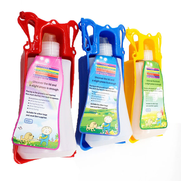 Water Dog Cat Feeding Bottle Travel Portable Dispenser
