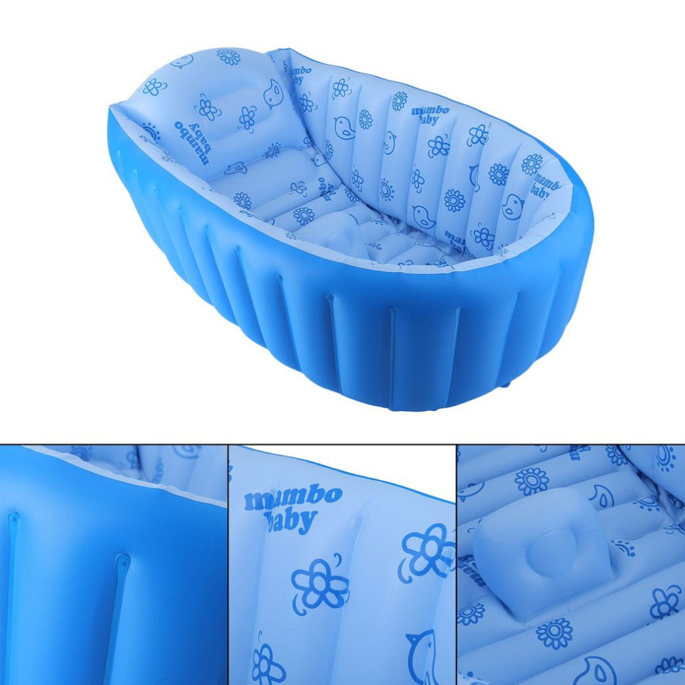 Baby Bathtub Portable and Inflatable for Newborns Swimming Pool ...