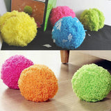 Mini Automatic Rolling Cleaning Robot Microfiber Mop Ball