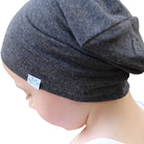 Solid Color Cotton Soft Warm Spring Hat Crown Decor Beanie