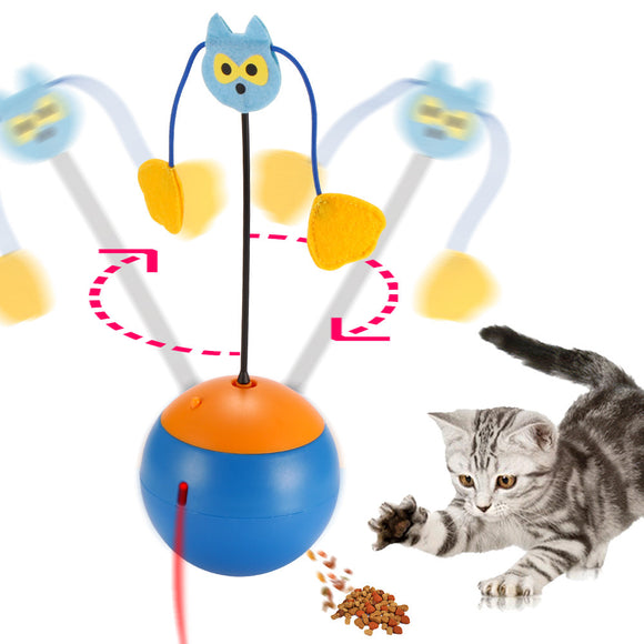3 in 1 Multi Function Interactive Cat Toy Electric Automatic Rotation