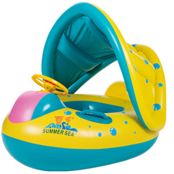 Baby Kids Chair Seat Swimming Ring Children Inflatable