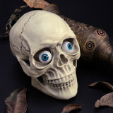 8 Hollow Eyeball Mask Halloween Horror Props Costume Plastic Eyeballs
