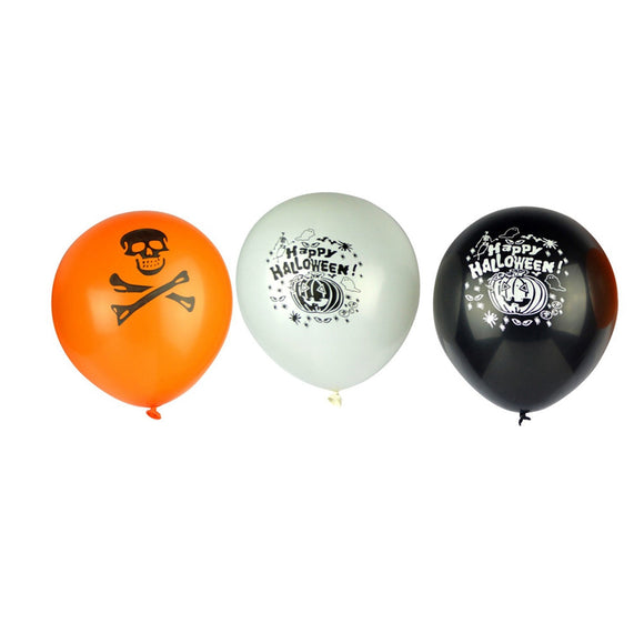 100pcs Thickened Latex Balloons Halloween