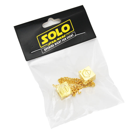 Star Wars Han Solo Gold Dice Toys Exclusive Lucky Dice Action Figure