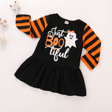 Baby Halloween Clothes Winter Long Sleeve Dress