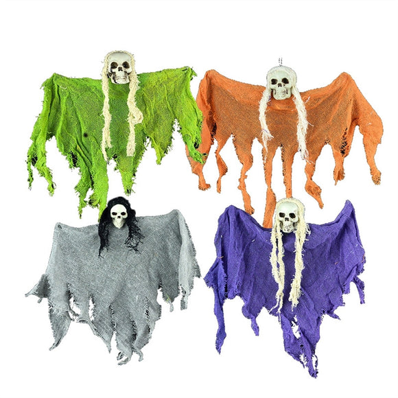 4pcs Halloween Hanging Decoration Little Ghost Hangings for Halloween