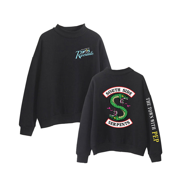 Sweatshirts Fashion Long Sleeve Casual Clothing Serpents