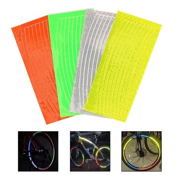 Colorful Decal Reflective Tape Reflector Safety