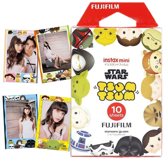 Fujifilm Instax Mini Tsum Tsum Star Wars Photo Paper 10 Sheets For Fuji Instant Photo Camera Mini 8 9 70 25 90 Share SP-2