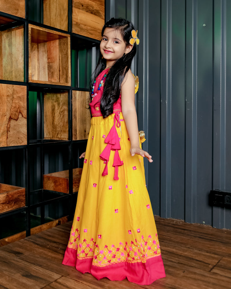 Yellow Dolly Lehenga Set