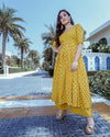Indian Yellow Suit Set
