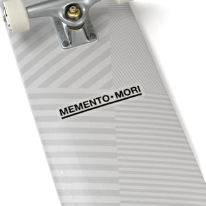 Memento mori laptop sticker
