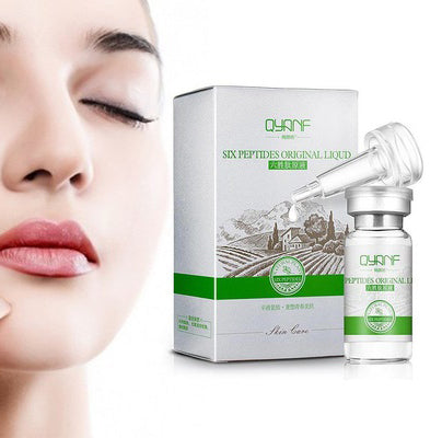 Six Peptides Plant Stem Cell Serum For Beautiful Supple Skin