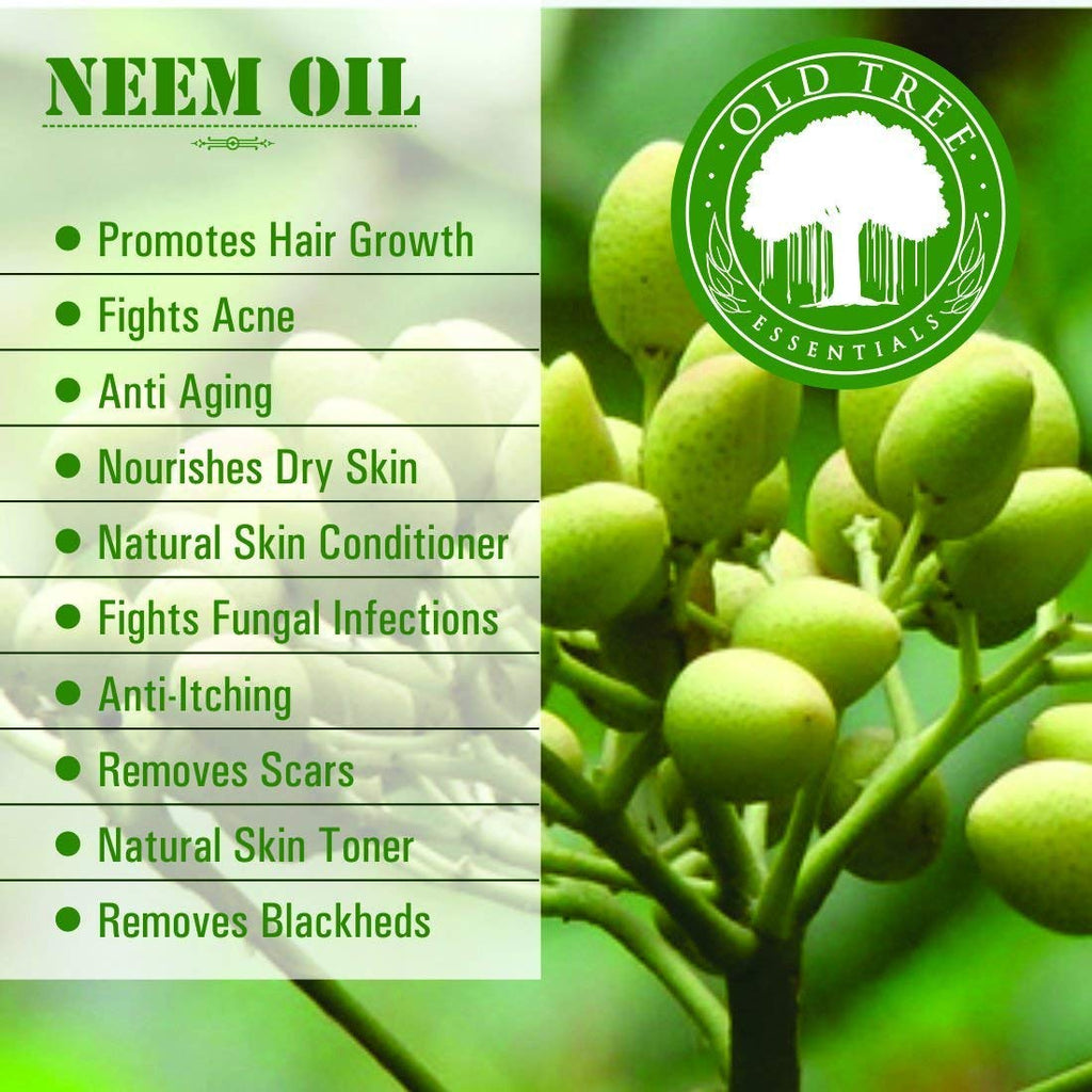 100% Organic, Undiluted Pure Neem Oil (for humans, animals and plants)