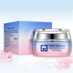Japanese Cherry Blossom Moisture Replenishing Nourishing Facial Cream with Hyaluronic Acid