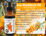 Anti-ageing and Moisturizing 100% Pure, Cold Pressed Sea Buckthorn Fruit Berry Oil
