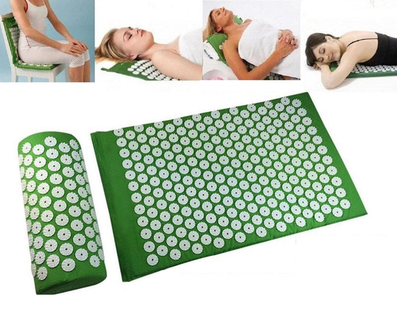 Acupressure Spike Mat and Cushion Set