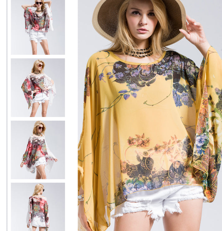 Summer in Venice™️ Chiffon Tunic Gorgeous Fitting