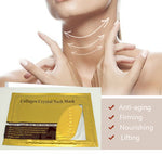 PRO Collagen Anti-ageing  Gold Neck Mask