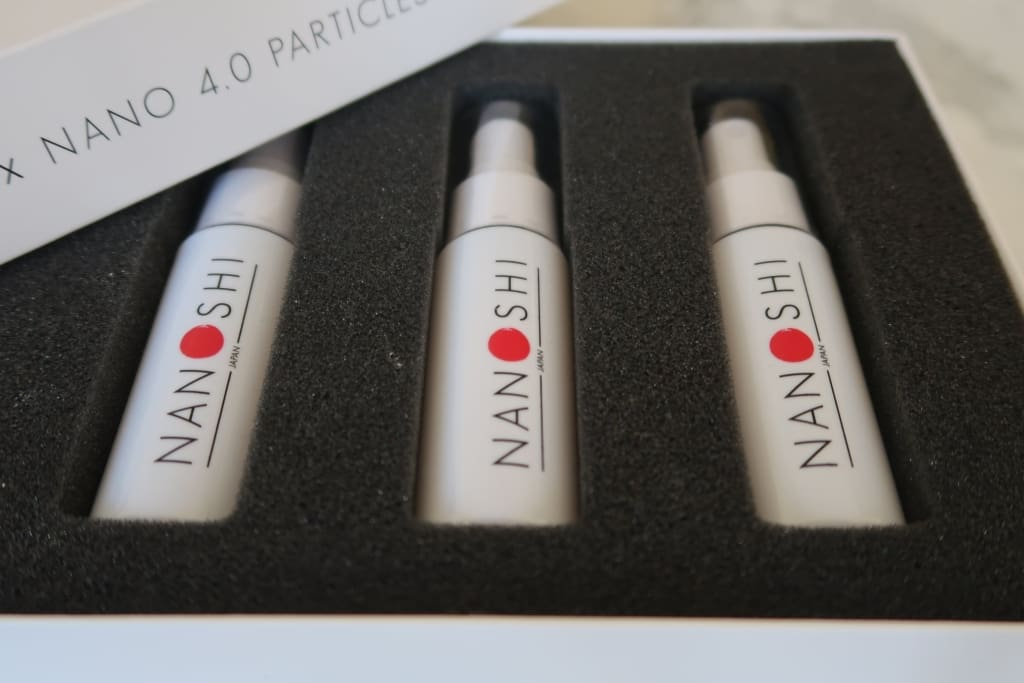 3 X Nanoshi Nanospray Box Set