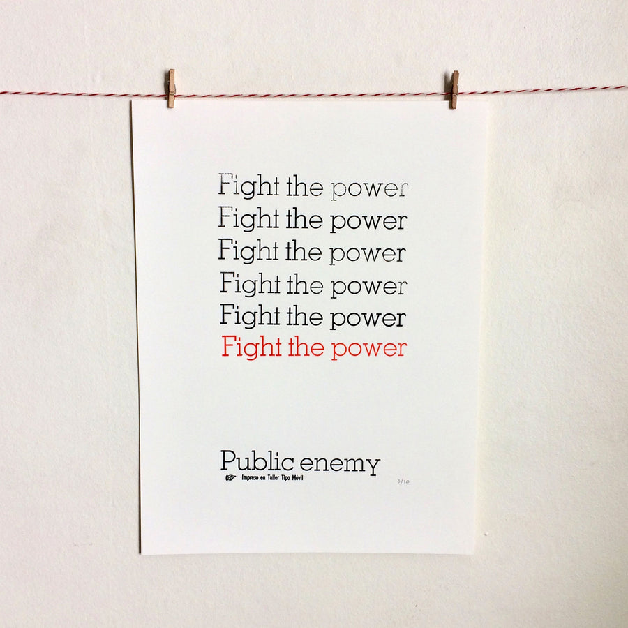 Canciones: Fight the Power