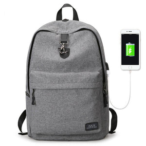 Ajax Mark Ryden student USB backpack
