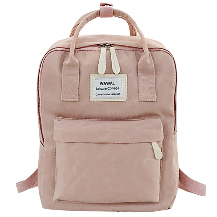 Fashion lady Student Canvas shoulder bag schoolbag bag Tour backpack #YL5