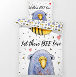 BEE Love - Children Bedding Duvet  - Percale Set