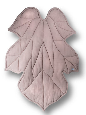 Blush Pink Leaf - Floor Mat