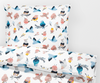 Sweet Birds- Toddler Bedding Duvet  - Percale Set