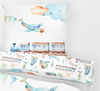 Trains - Children Bedding Duvet  - Percale Set