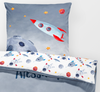Astronaut - Teens Bedding Duvet  - Percale Set