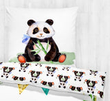 Panda - Children Bedding Duvet  - Percale Set