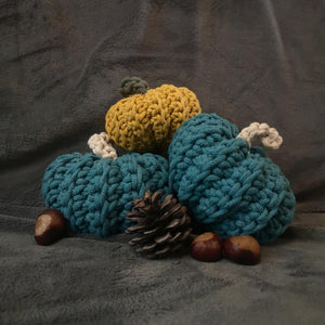 Crochet Pumpkins Mix Set