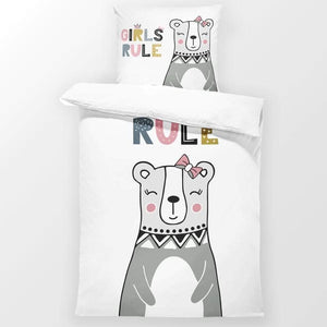 Girls Rule - Toddler Bedding