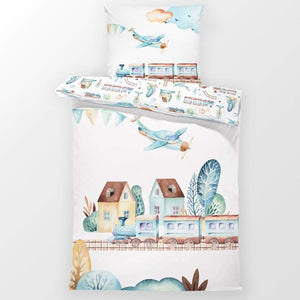 Trains - Toddler Bedding