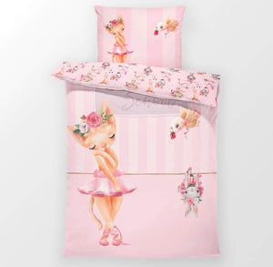 Ballet School - Toddler Bedding