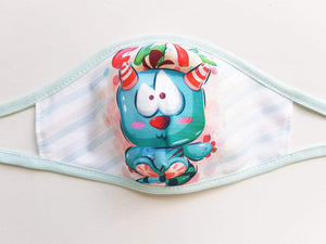 Kids Cotton Face Mask  -  Cute