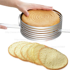 Adjustable round  tiered baking mold - Gidli