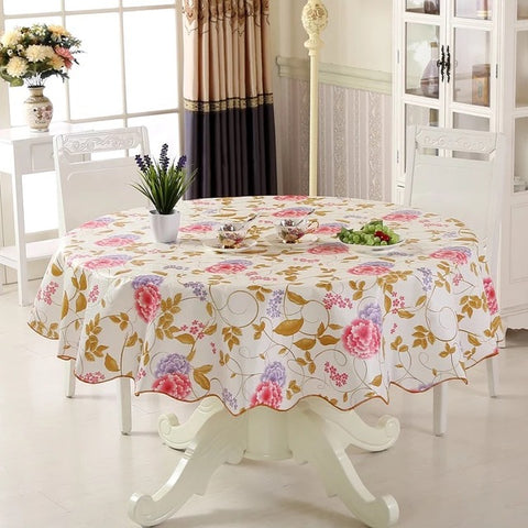Vinyl Tablecloth Dining Kitchen - Gidli