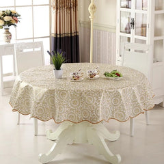 Vinyl Tablecloth Dining Kitchen