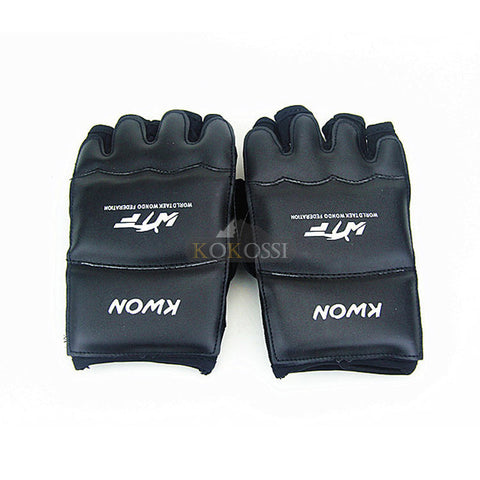 Half Finger Fight Boxing Gloves Mitts - Gidli