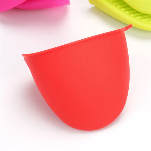 Heat Resistant Silicone Oven Mitt Cooking - Gidli
