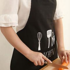 Spoon Pattern Working Apron Kitchen
