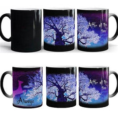 Temperature Sensitive Color-Changing Mug