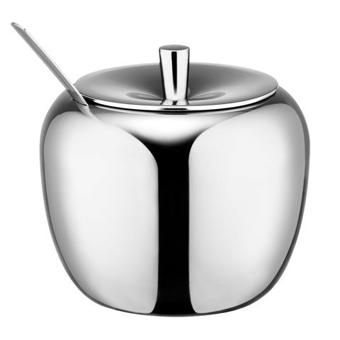 Stainless Steel Apple Sugar Pot - Gidli