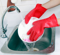 Grill Oven Mitt Pot Holder Cooking glove - Gidli