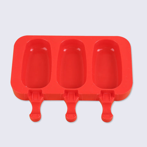 Oval Ellipse Shape Silicone Ice Cream - Gidli