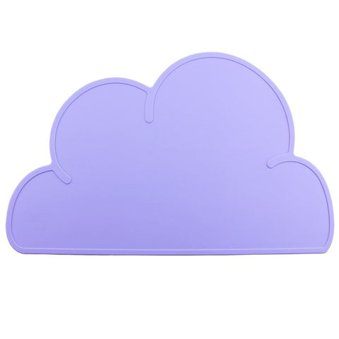 Baby Kids Cloud Shaped Plate Mat - Gidli